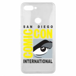 Чохол для Xiaomi Mi8 Lite Comic-Con International: San Diego logo