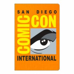 Блокнот А5 Comic-Con International: San Diego logo