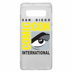 Чохол для Samsung S10+ Comic-Con International: San Diego logo