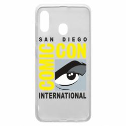 Чохол для Samsung A20 Comic-Con International: San Diego logo