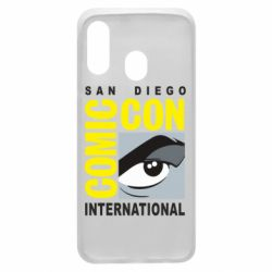 Чохол для Samsung A40 Comic-Con International: San Diego logo
