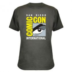 Камуфляжна футболка Comic-Con International: San Diego logo