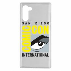 Чохол для Samsung Note 10 Comic-Con International: San Diego logo
