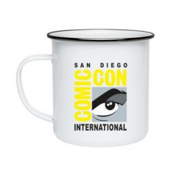 Кружка емальована Comic-Con International: San Diego logo