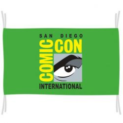 Прапор Comic-Con International: San Diego logo