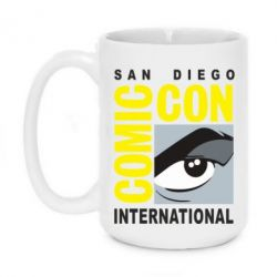 Кружка 420ml Comic-Con International: San Diego logo