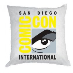 Подушка Comic-Con International: San Diego logo