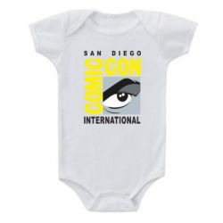 Дитячий бодік Comic-Con International: San Diego logo
