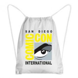 Рюкзак-мішок Comic-Con International: San Diego logo
