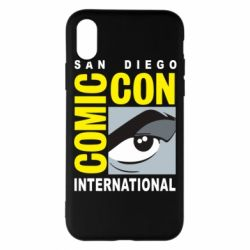 Чохол для iPhone X/Xs Comic-Con International: San Diego logo