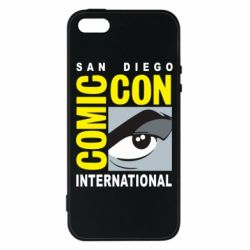Чохол для iphone 5/5S/SE Comic-Con International: San Diego logo