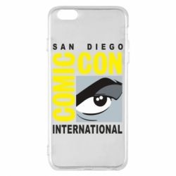 Чохол для iPhone 6 Plus/6S Plus Comic-Con International: San Diego logo