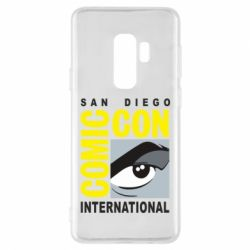 Чохол для Samsung S9+ Comic-Con International: San Diego logo