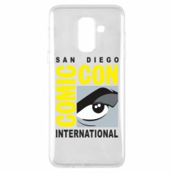 Чохол для Samsung A6+ 2018 Comic-Con International: San Diego logo