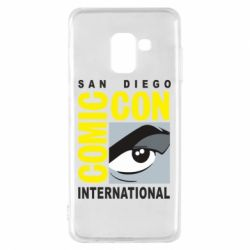 Чохол для Samsung A8 2018 Comic-Con International: San Diego logo