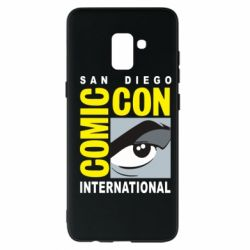 Чохол для Samsung A8+ 2018 Comic-Con International: San Diego logo