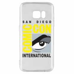 Чохол для Samsung S7 Comic-Con International: San Diego logo