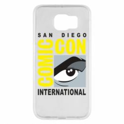Чохол для Samsung S6 Comic-Con International: San Diego logo