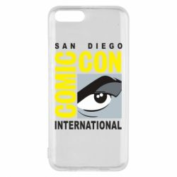 Чохол для Xiaomi Mi6 Comic-Con International: San Diego logo
