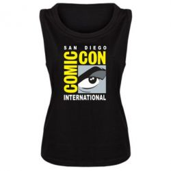 Майка жіноча Comic-Con International: San Diego logo