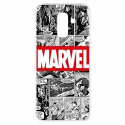 Купить Masha, Чехол для Samsung A6+ 2018 Comics Marvel, FatLine