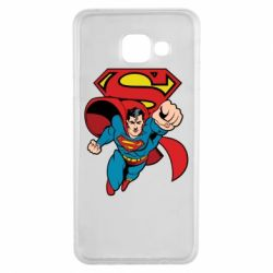 Чохол для Samsung A3 2016 Comics Superman