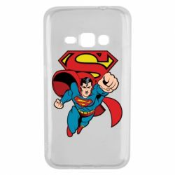 Чохол для Samsung J1 2016 Comics Superman