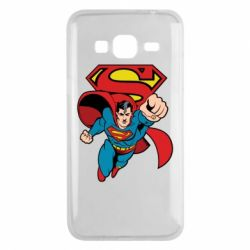 Чохол для Samsung J3 2016 Comics Superman