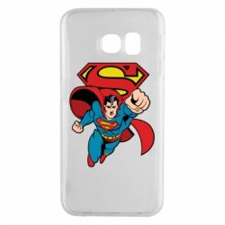 Чохол для Samsung S6 EDGE Comics Superman