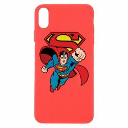 Чохол для iPhone Xs Max Comics Superman