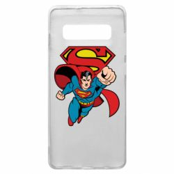 Чохол для Samsung S10+ Comics Superman