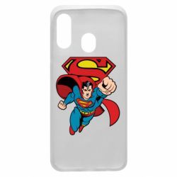 Чохол для Samsung A40 Comics Superman