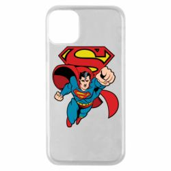 Чохол для iPhone 11 Pro Comics Superman