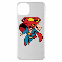 Чохол для iPhone 11 Pro Max Comics Superman