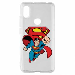Чохол для Xiaomi Redmi S2 Comics Superman