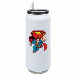 Термобанка 500ml Comics Superman