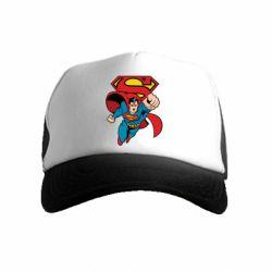 Дитяча кепка-тракер Comics Superman