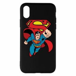 Чохол для iPhone X/Xs Comics Superman