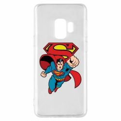 Чохол для Samsung S9 Comics Superman