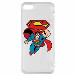 Чохол для iphone 5/5S/SE Comics Superman