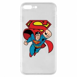 Чохол для iPhone 7 Plus Comics Superman