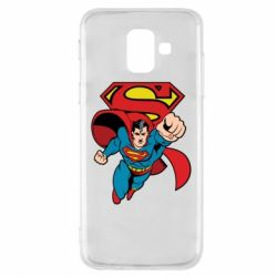 Чохол для Samsung A6 2018 Comics Superman