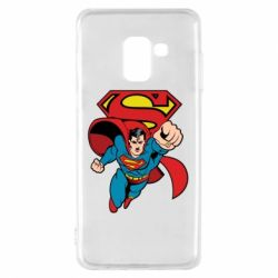 Чохол для Samsung A8 2018 Comics Superman