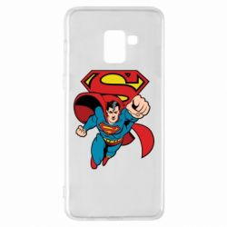 Чохол для Samsung A8+ 2018 Comics Superman