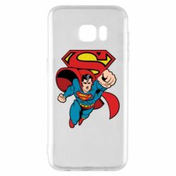 Чохол для Samsung S7 EDGE Comics Superman