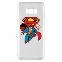 Чохол для Samsung S8+ Comics Superman