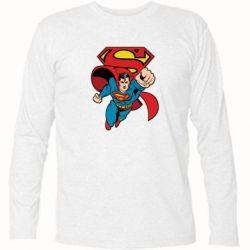 Футболка с длинным рукавом Comics Superman - FatLine