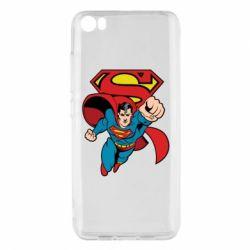 Чохол для Xiaomi Mi5/Mi5 Pro Comics Superman