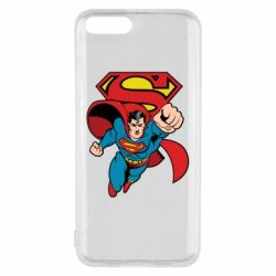 Чохол для Xiaomi Mi6 Comics Superman
