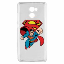 Чехол для Xiaomi Redmi 4 Comics Superman